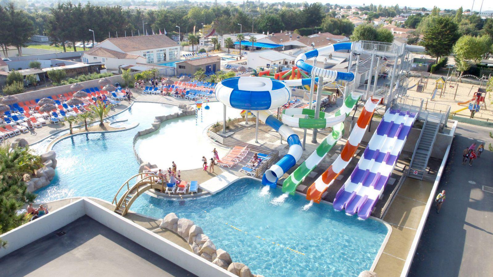 Sables d 39 olonne camping le trianon plein air vacances - Camping a valras plage avec piscine ...
