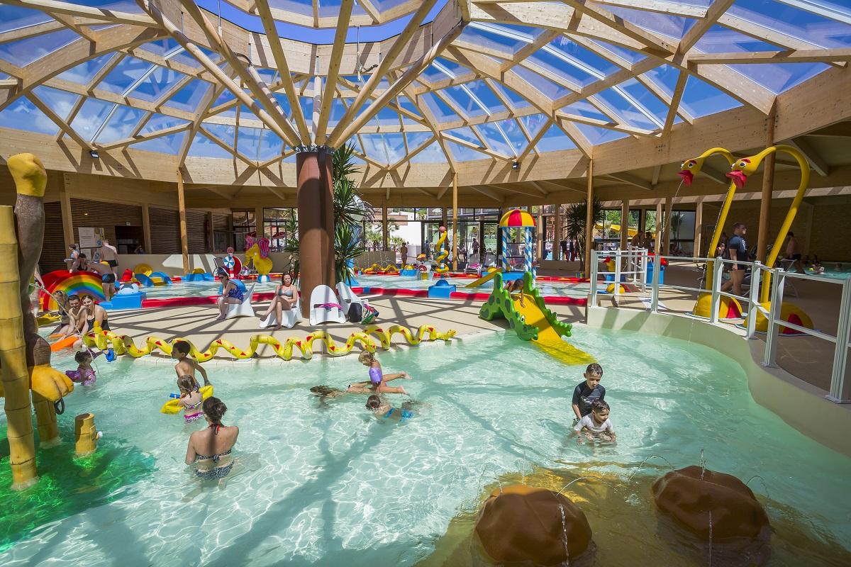 Biscarosse camping de la rive plein air vacances - Camping roscoff avec piscine couverte ...