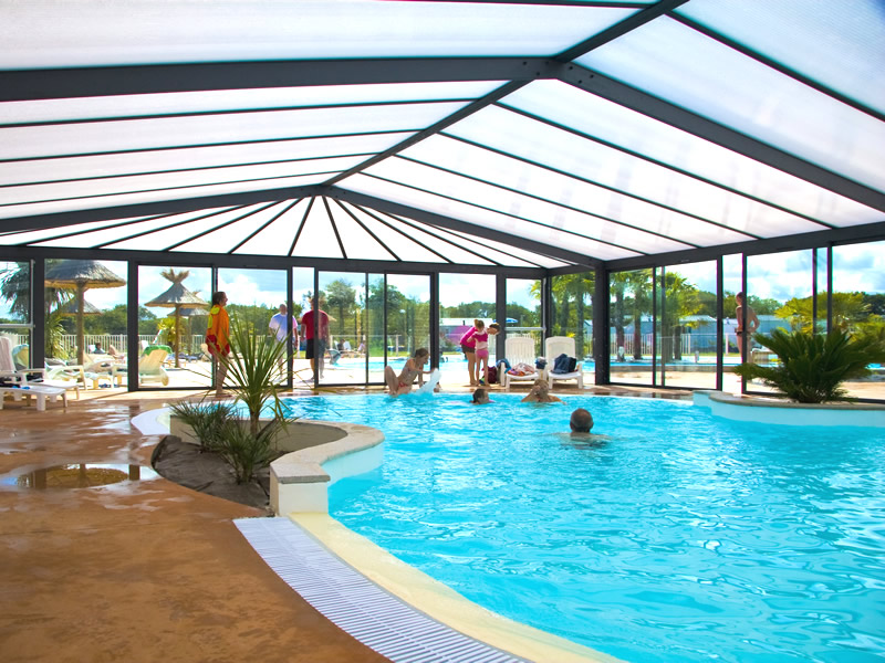 Lannion camping les aliz s plein air vacances for Camping bretagne piscine couverte
