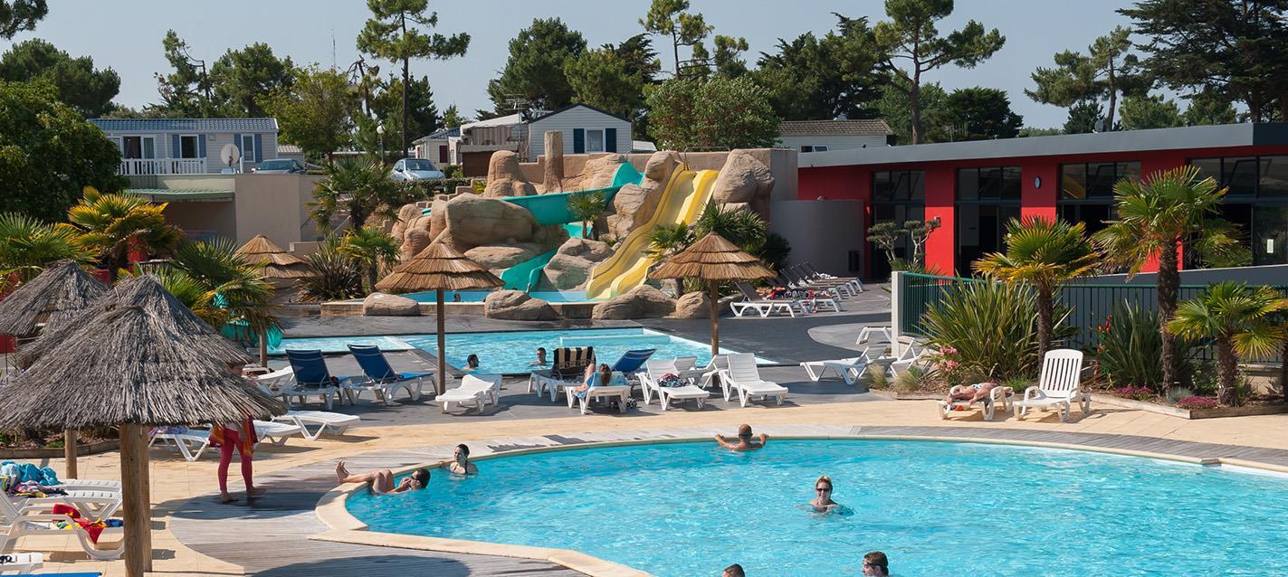 St jean de monts camping le tropicana plein air vacances for Club piscine ste marie